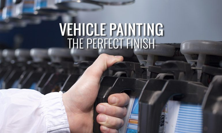 Car Painting from Leons Auto Body - The Perfect Finish