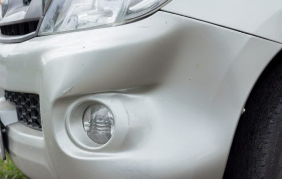 how to fix a hole in your plastic bumper